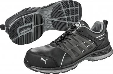 278f4e1b7418 Puma Velocity 2.0 Black Low S3 ESD HRO SRC munkavédelmi cipő